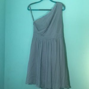 ann taylor pre loved off the shoulder dress size 6